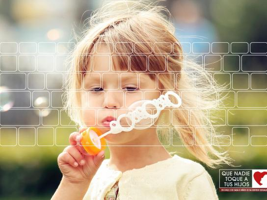 PREVIF Print Ad -  Little girl