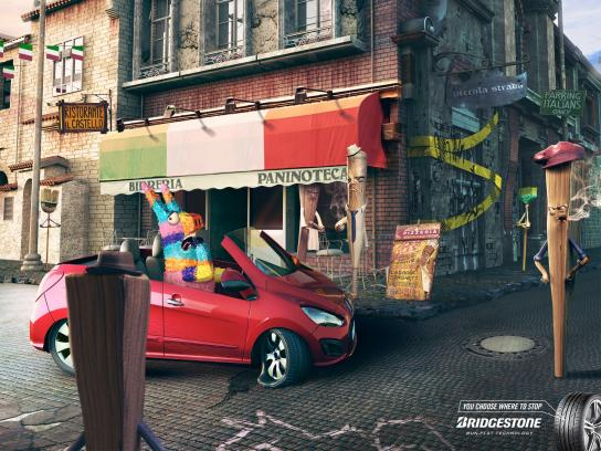Bridgestone Print Ad -  LittleSticktaly