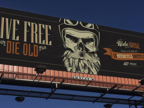 CDOT Outdoor Ad - Skull