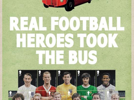 Royal Mail Print Ad -  Real Heroes, 1