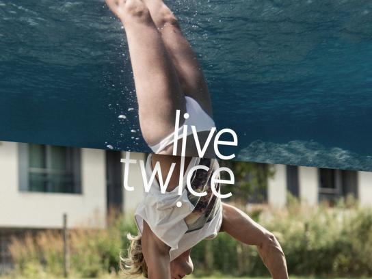 Mexican Transplant Association Print Ad -  Live twice, 4