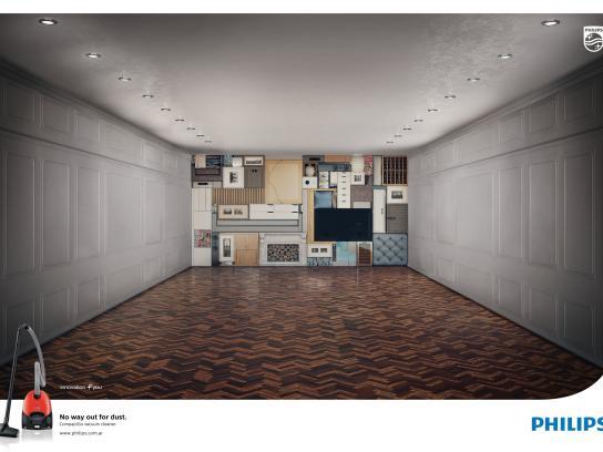 Philips Print Ad -  Living room