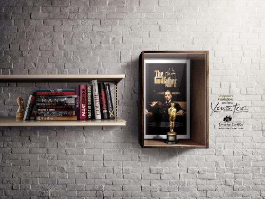 Livrarias Curitiba Print Ad -  Coppola