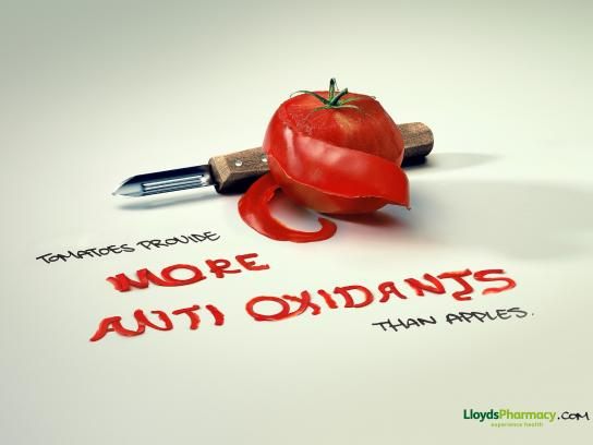 Lloyds Pharmacy Print Ad -  Apples