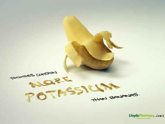 Lloyds Pharmacy Print Ad -  Bananas