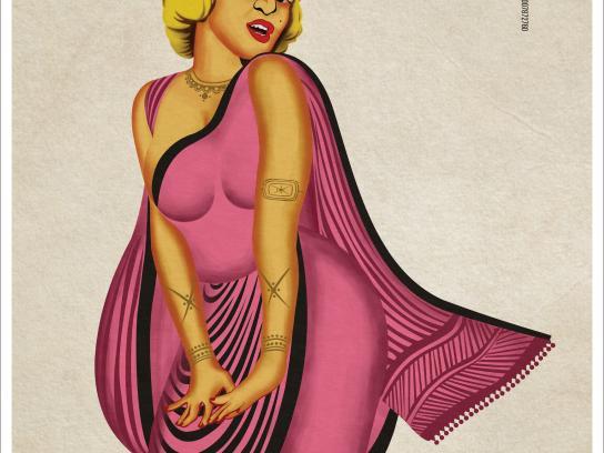 Nukkad Printer Digital Ad - Local Marilyn