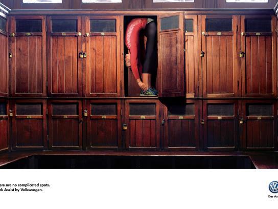 Volkswagen Print Ad -  Lockers
