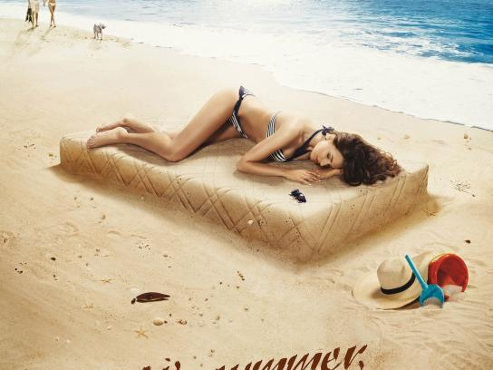 Lonas Print Ad -  Beach