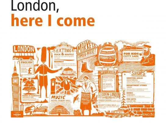 ING Outdoor Ad -  Cities in a Click - London