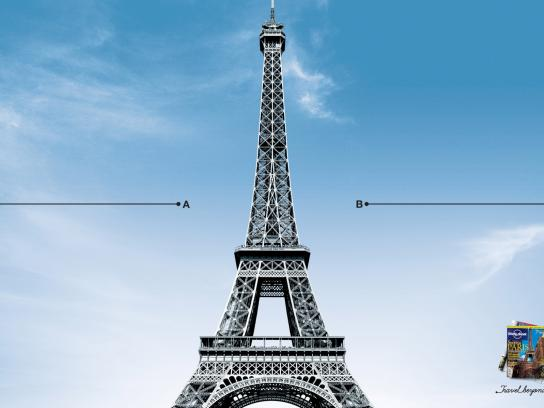 Lonely Planet Print Ad -  Paris
