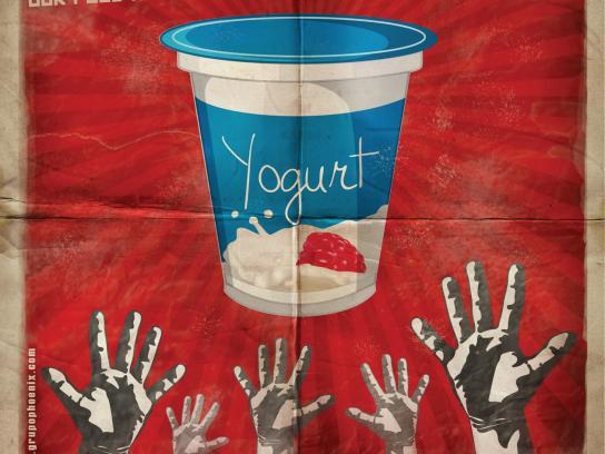 Grupo Phoenix Print Ad -  Yogurt