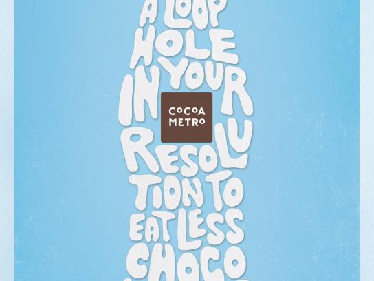 Cocoa Metro Print Ad -  Loophole