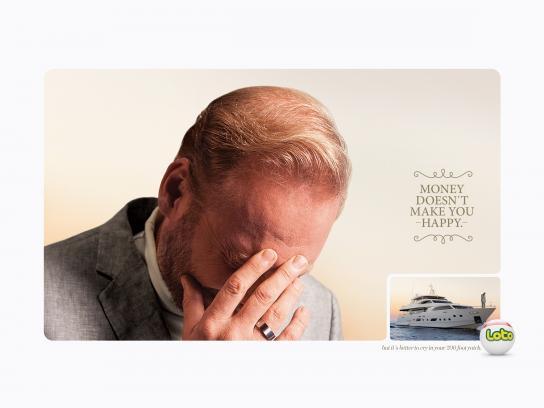 Loto Print Ad - Yacht