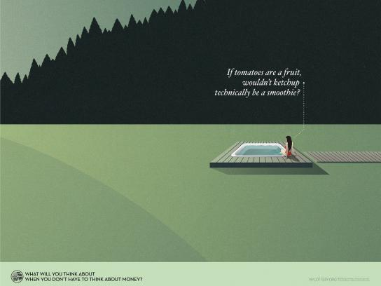 New York Lottery Print Ad -  Jacuzzi