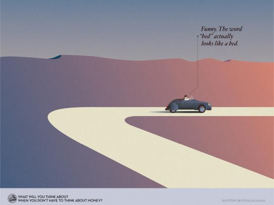 New York Lottery Print Ad -  Car
