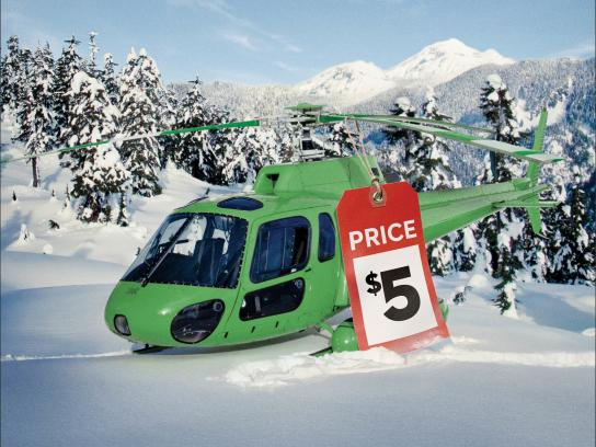 Lotto Max Print Ad -  Helicopter
