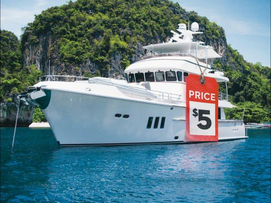 Lotto Max Print Ad -  Yacht