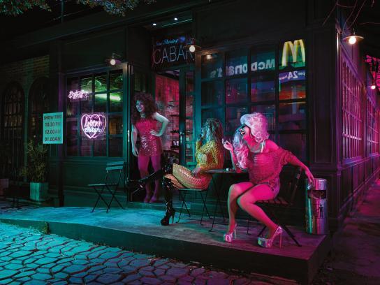 McDonald's Print Ad - Loving Bangkok Nights, 4