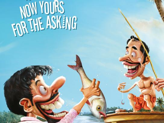 Asianet News Print Ad -  Yours for the asking