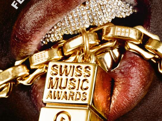 Swiss Music Awards Outdoor Ad -  Necklace