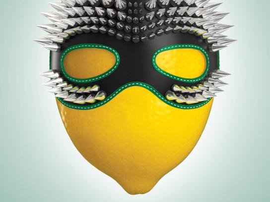 L&P Sour Print Ad -  Mask