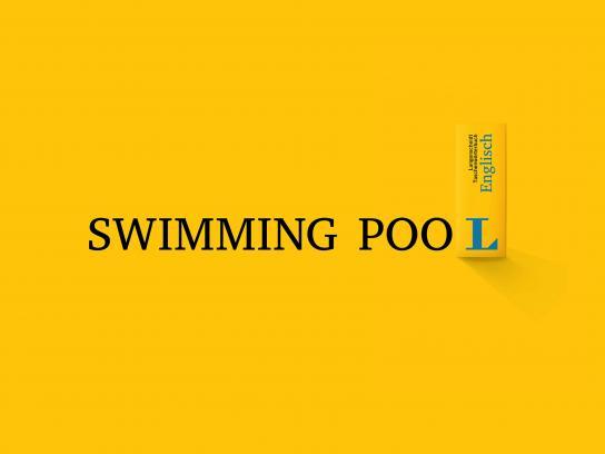 Langenscheidt Outdoor Ad - Swimming pool