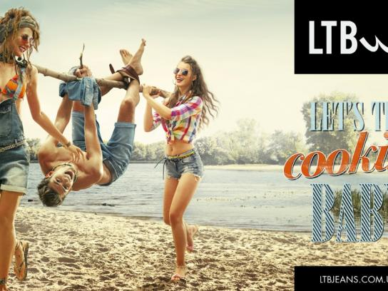 LTB Jeans Print Ad -  Let's try, 1