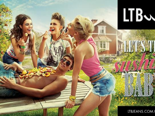 LTB Jeans Print Ad -  Let's try, 4