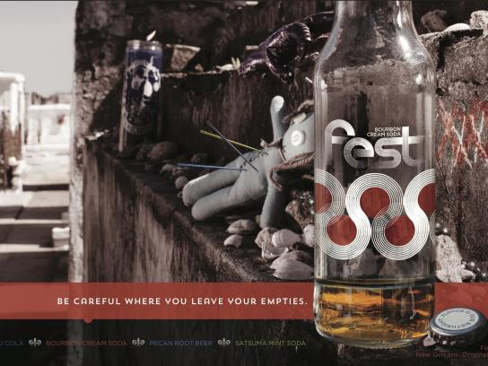 Fest Cola Outdoor Ad -  Flavor Is Our Birthright, 3