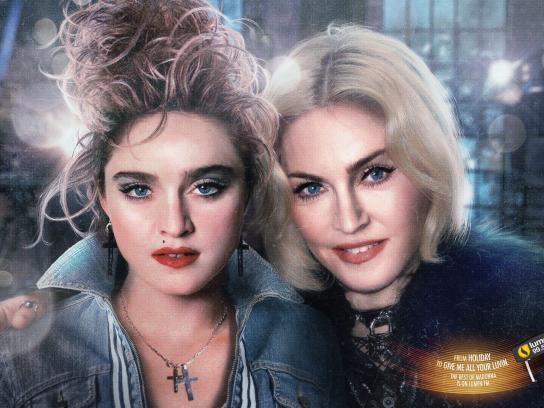 Lumen FM Print Ad -  Madonna