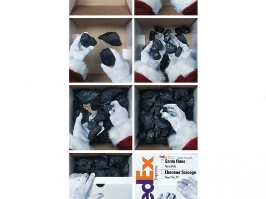 FedEx Print Ad -  Lumps of coal