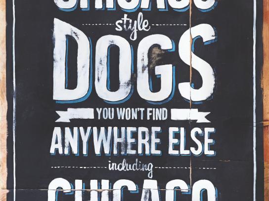Luscher's Outdoor Ad -  Chicago