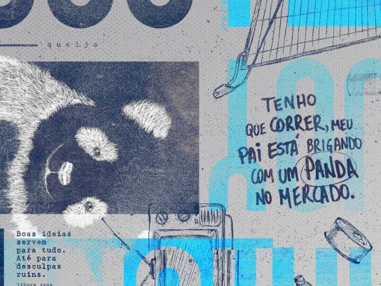 Lusos Print Ad - Panda