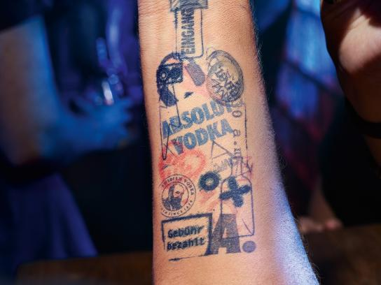 Absolut Print Ad - Stamp