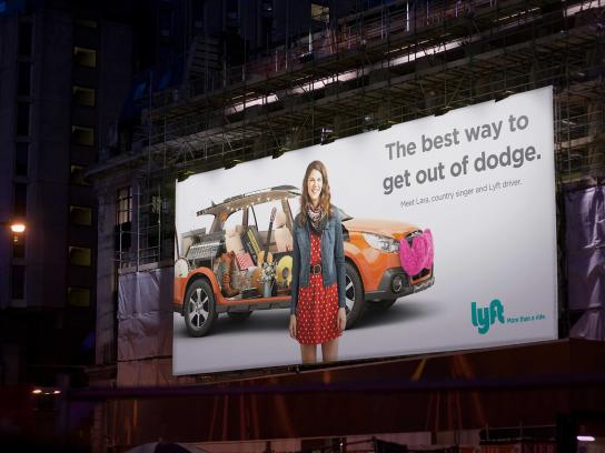 Lyft Outdoor Ad -  Lara