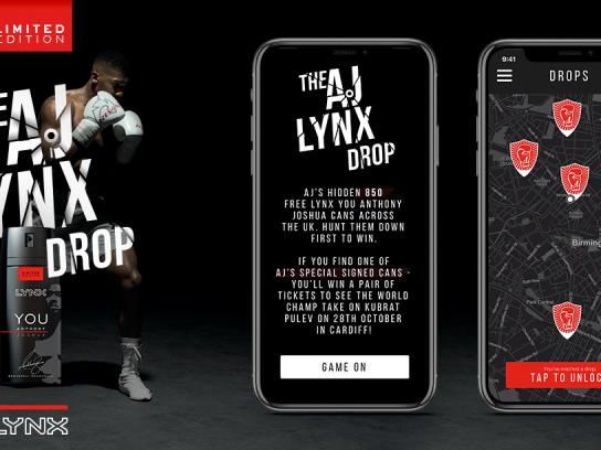 Lynx Digital Ad - The AJ Lynx Drop