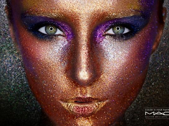 MAC Cosmetics Print Ad - Color is your runway, 1