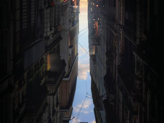 International Saeta Travelling Print Ad - Madrid - Paris