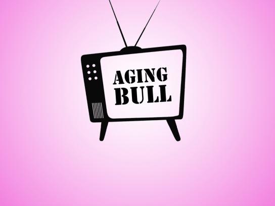 T-Mobile Print Ad -  Aging Bull