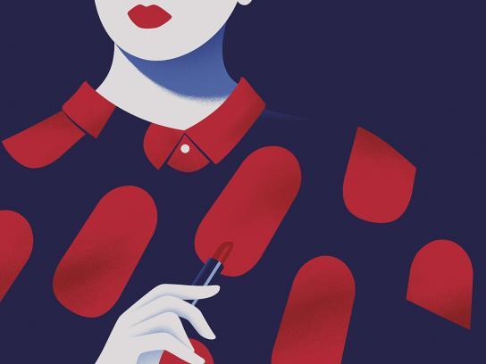 Magnum Outdoor Ad - Pleasure Icon, Dress