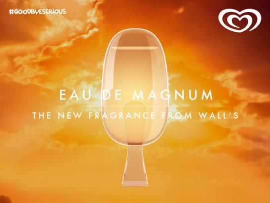 Wall's Print Ad -  Eau De Ice Cream, 2