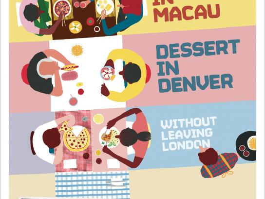 Transport for London Print Ad -  Food