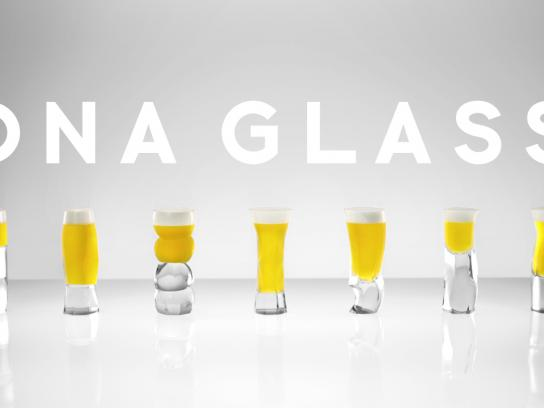 Genomedia Design Ad - DNA Glass Project