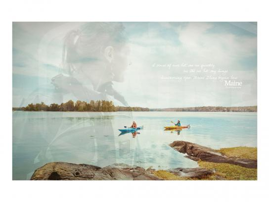 Maine Office of Tourism Print Ad -  View, 2
