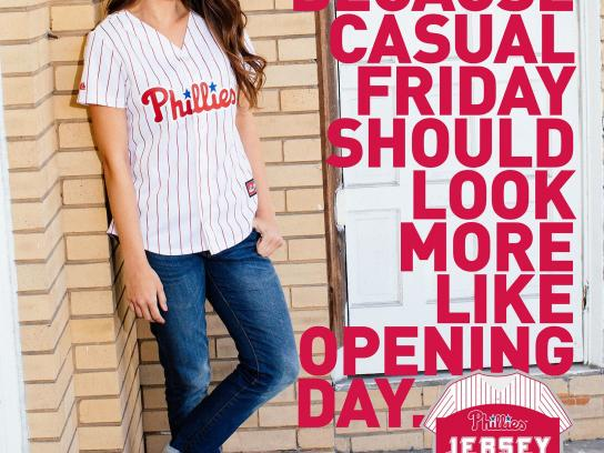 Majestic Print Ad -  Jersey Day, 2