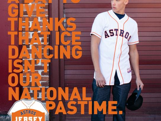 Majestic Print Ad -  Jersey Day, 1