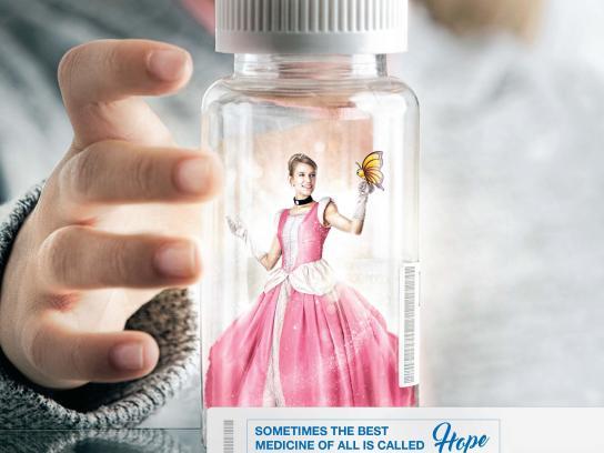 Make-A-Wish Print Ad - Princess