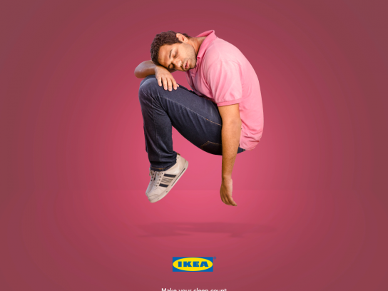 IKEA Print Ad - Make your sleep count, 3