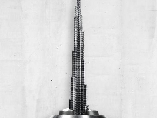 Makita Print Ad -  Burj Khalifa Dubai