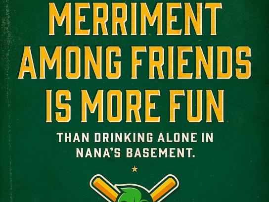 Madison Mallards Outdoor Ad -  Nana